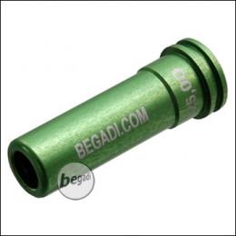 Begadi PRO CNC Nozzle aus 7075 Aluminium mit Doppel O-Ring -25.00mm-