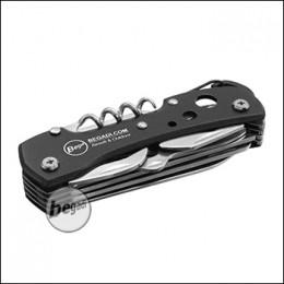 Begadi Multifunktionswerkzeug / Taschenmesser - schwarz