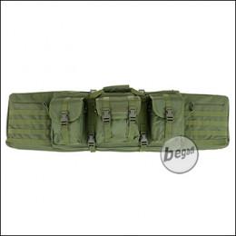 """Begadi """"Multi Load"""" Langwaffentasche / Futteral, lang, 120cm -olive-"""