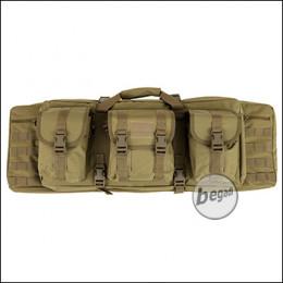"Begadi ""Multi Load"" Langwaffentasche / Futteral, kompakt, 92cm -TAN-"
