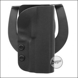 Begadi Kydex Hartschalenholster für ICS Korth PRS -schwarz-