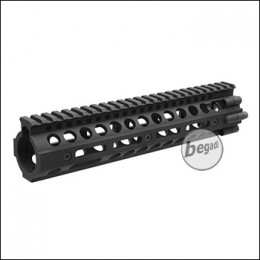 "Begadi HW4 DeluXe CNC M-LOK Handguard, schwarz - 10"" Version"