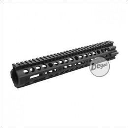 "Begadi HW4 DeluXe CNC M-LOK Handguard, schwarz - 16"" Version"