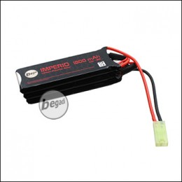 "Begadi ""IMPERIO"" LiPo Akku 11,1V 1800mAh 30C Wide Triple Stick mit Mini TAM"