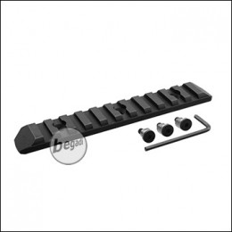 Begadi KeyMod 11 Slot Metall Rail -schwarz-