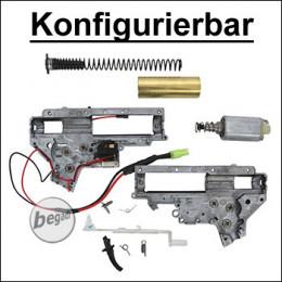 Konfigurierbare CYMA V2 M4 Metall Gearbox mit Motor [semi only] (frei ab 18 J.)