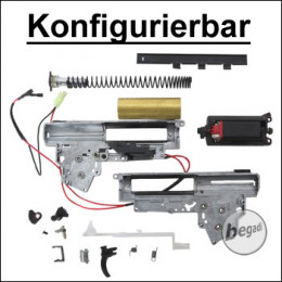 Konfigurierbare CYMA V3 Metall Gearbox mit Motor [semi only] (frei ab 18 J.)