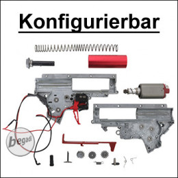 Konfigurierbare VFC V2 Gearbox, komplett mit Motor [semi only] (frei ab 18 J.)