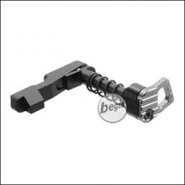Begadi M4 CNC S-AEG Mag Catch -schwarz / grau-