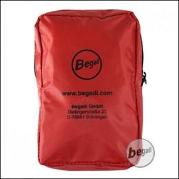 Begadi Verbandset, 20-teilig, mit roter Tasche
