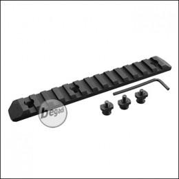 Begadi MLOK 13 Slot Metall Rail -schwarz-