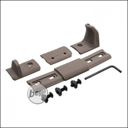 Begadi MLOK Deluxe Handstop Set -TAN-