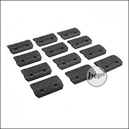 Begadi MLOK Rail Cover Set, 12 Stück -schwarz-