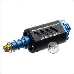 Begadi Ultra 15K - 32 TPA Neodym Ultra High Torque Motor, blau -lang-