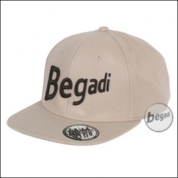 "BEGADI ""New Era"" Cap, snapped - TAN (gratis ab 300 EUR)"