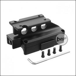 Begadi Side Lock QD Mount für 1x25 Short Dot -schwarz-