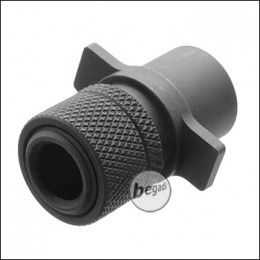 Begadi CM.123 AEP Silencer Adapter -schwarz-