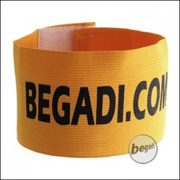 BEGADI Team Armband / Patch -gelb-