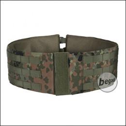 Vergrößerter Kummerbund / Waistbelt für Begadi Value Plate Carrier, flecktarn