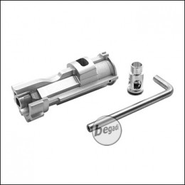 Begadi CNC NPAS Alu Nozzle Set für WE M4 GBBs