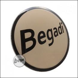 """Begadi Metall Pin """"Begadi Logo"""""""