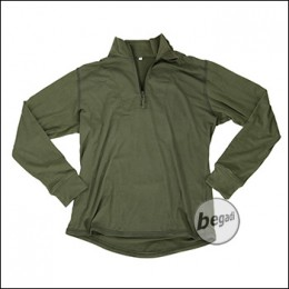 """BE-X FronTier One Baselayer Shirt """"Bambus"""", lang, olive"""