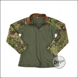 "BE-X FronTier One Combat Shirt, ""Windproof"", 4 Jahreszeiten, Pencott Greenzone"