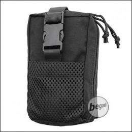 """BE-X FronTier One Modulartasche """"IFAK auf Abreißplatte V2.0"""" - schwarz"""