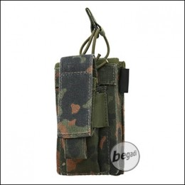 "BE-X FronTier One Modulartasche ""Open Type M4 + Pistol V2.0"" - flecktarn"