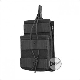 "BE-X FronTier One Modulartasche ""Open M4 Stacked V2.0"" - schwarz"