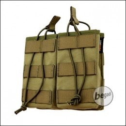 """BE-X FronTier One Modulartasche """"Open G36 Double V2.0"""" - coyote TAN"""