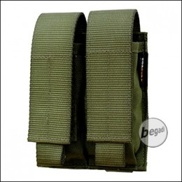 """BE-X FronTier One Modulartasche """"Pistol double V2.0"""" - olive"""