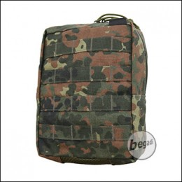 "BE-X FronTier One Modulartasche ""Vertical Accessory V2.0"" - flecktarn"