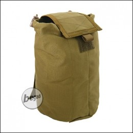 "BE-X FronTier One Abwurfsack / Dump Pouch ""Xtra Large, faltbar"" - coyote TAN"