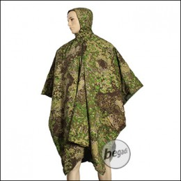 BE-X FronTier One Poncho Liner mit Schlafsack Funktion - Pencott Greenzone