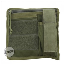 "BE-X FronTier One Modulartasche ""Admin Flat V2.0"" - olive"