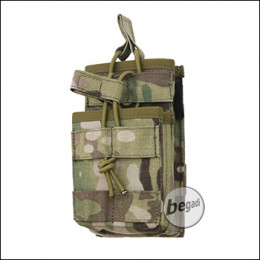 "BE-X FronTier One Modulartasche ""Open M4 Stacked V2.0"" - multicam"