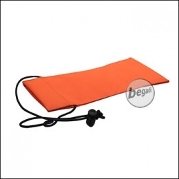 Begadi Laufsocke aus Cordura, 10x22cm - orange
