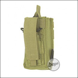 "BE-X Open Type  + Pistol Pouch ""M4 / M16"" - Coyote Tan / MJK"