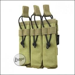 BE-X Open Mag Pouch, triple, für MP5 - Coyote Tan / MJK