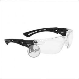 """Bollé Schutzbrille """"RUSH+"""", MilSpec zertifizierte BSSI Ausführung, transparent (RUSHCLBSSI)"""