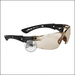 """Bollé Schutzbrille """"RUSH+"""", MilSpec zertifizierte BSSI Ausführung, CSP (RUSHCSPBSSI)"""