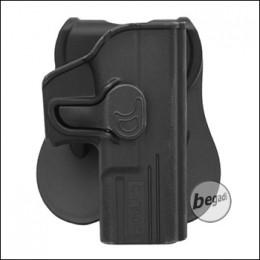 CYTAC Paddle Hartschalen- Holster für Glock 19, 23, 32 [CY-G19]