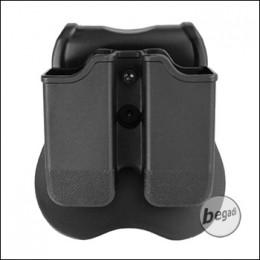 "CYTAC Hartschalen Magazintasche ""Glock"", inkl. Paddle Montage [CY-MP-G3]"