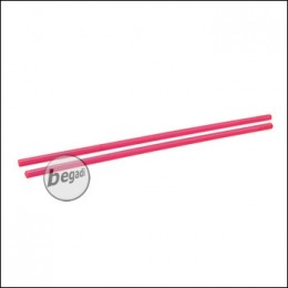 Dynamic Precision Lichtsammelstäbe / Fiber Optic Stäbe -rot- (2 Stück)