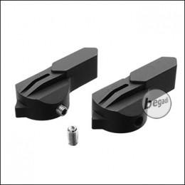 Dynamic Precision WE SCAR / MK16 Alu Fire Selector Set -Typ A-