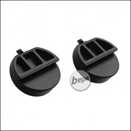 "Earmor M32H Helm Mount Adapter Set, ""groß"" - schwarz, 2 Stück (für Mod 3)"