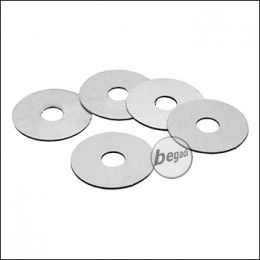 EPeS AOE Metall Pistonhead Spacer Pads -0,5mm-, 5er Pack [E011-05]