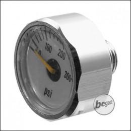 EPeS 300psi Manometer für HPA Regulatoren, mit 1/8 NPT Anschluss [E037]