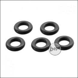 EPeS WE / KJW / VFC GBB Einlassventil Ersatz O-Ring Set, 5 Stück [E045-PV-WE]